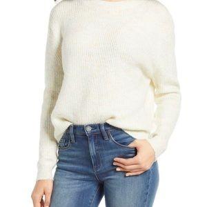 BP | NWT Chunky Crew Neckline Rainbow Marl Sweater